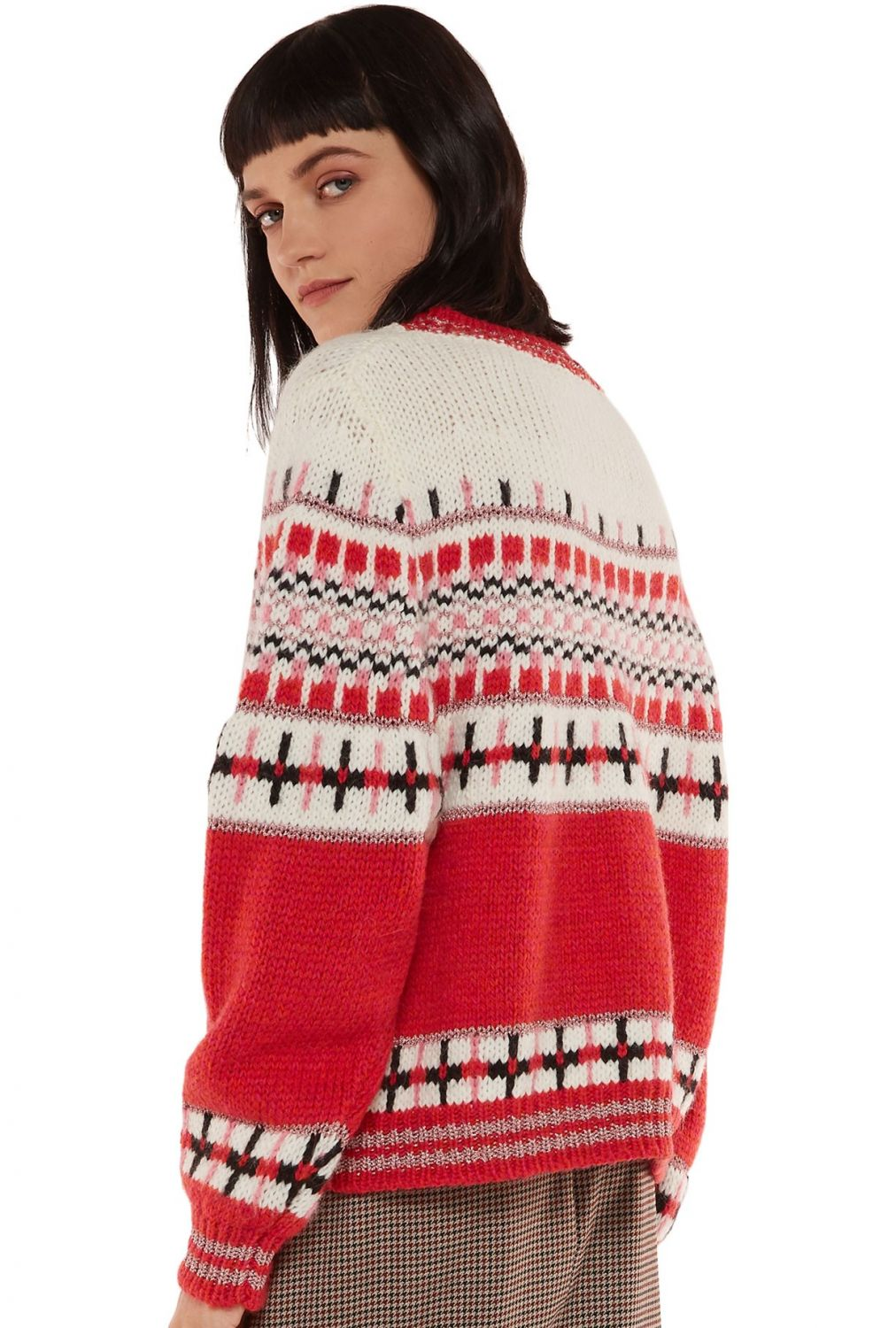 "Essentiel Antwerp Damen Strickpullover ""Rochers"" Rot 6"