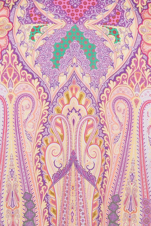 Etro Damen Bluse mit Print Pink 6