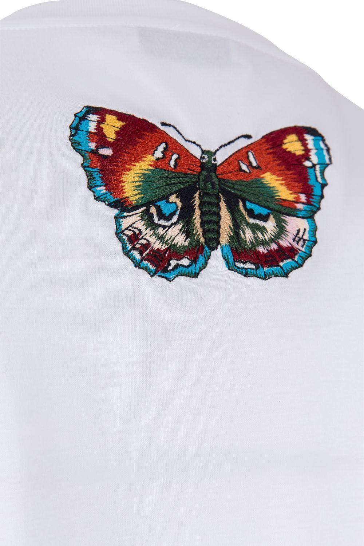 Etro Damen T-Shirt Circus Weiss 6