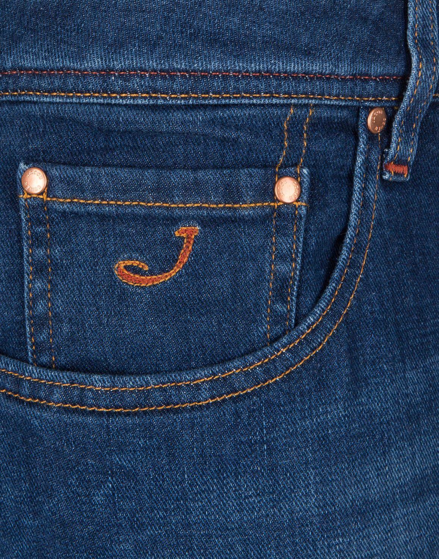 Jacob Cohen handmade Herren Jeans Comfort Denim Blau 6