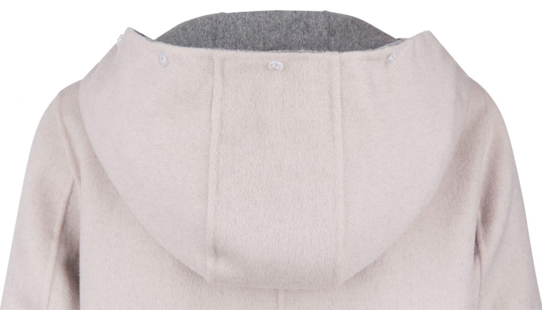OakWood wendbarer Damen Wollmantel Yale Beige/Grau 6