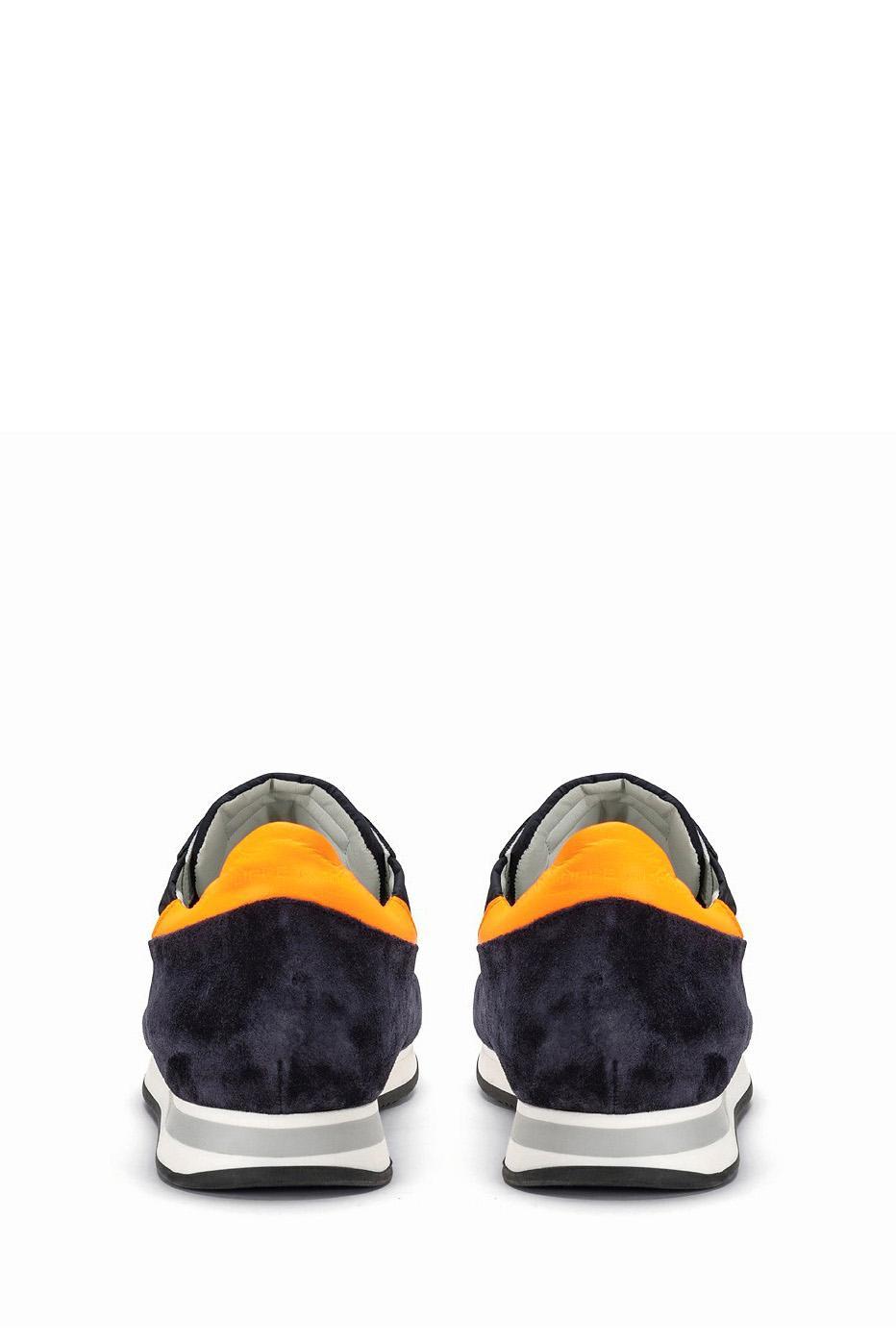 Philippe Model Herren Sneaker Tropez Mondial Olive Weiss