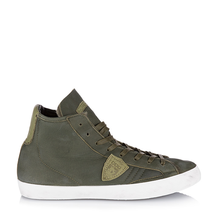 philippe model herren sneaker paris mouton vert olive bei sailerstyle. Black Bedroom Furniture Sets. Home Design Ideas