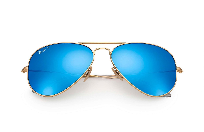 ray ban sonnenbrille aviator blau