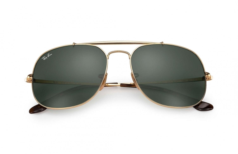 Sonnenbrille General Gold Grün klassisch migqcrKr8