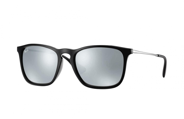 Sonnenbrille Chris Schwarz Gunmetal Silber verspiegelt kikUPbg6O2