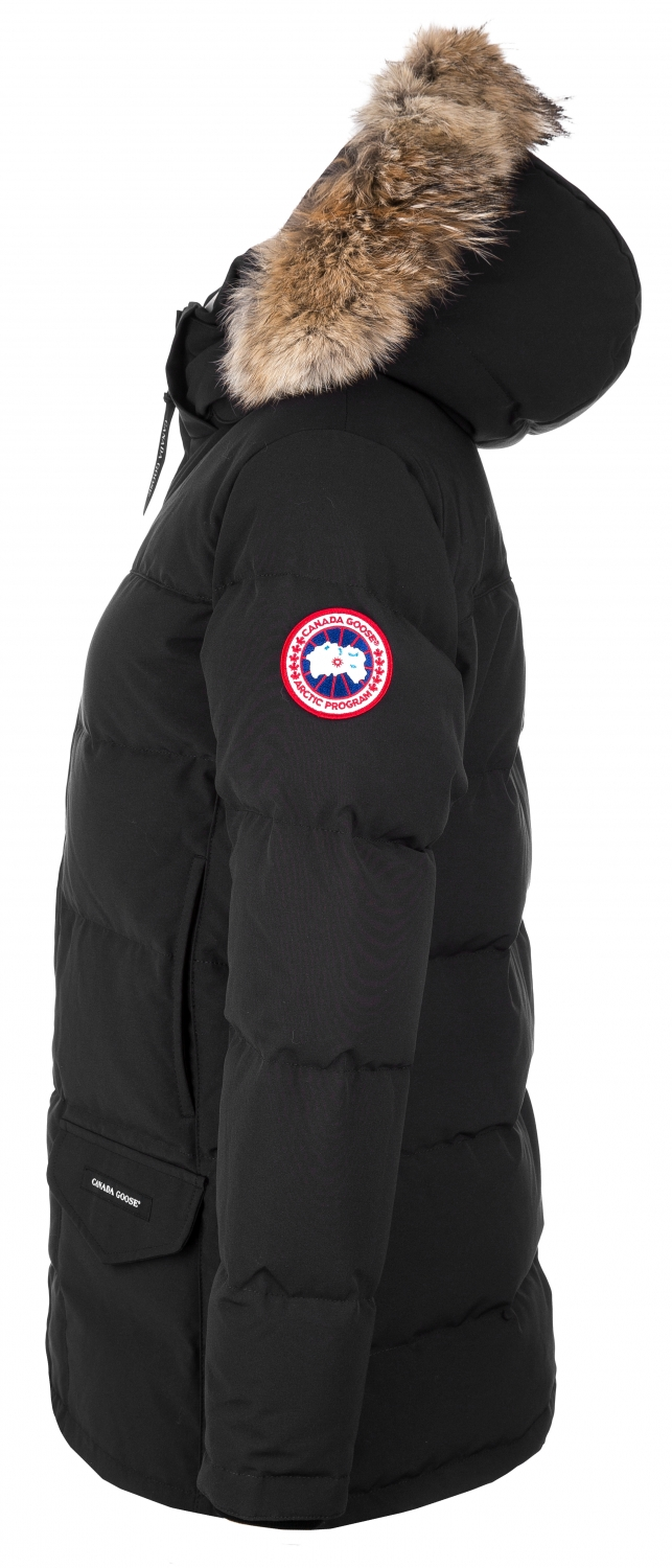 canada goose damen daunenparka solaris schwarz bei sailerstyle. Black Bedroom Furniture Sets. Home Design Ideas