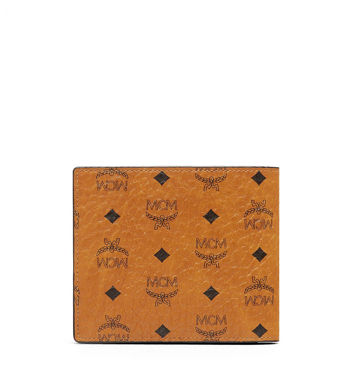 mcm herren geldb rse visetos original cognac bei sailerstyle. Black Bedroom Furniture Sets. Home Design Ideas