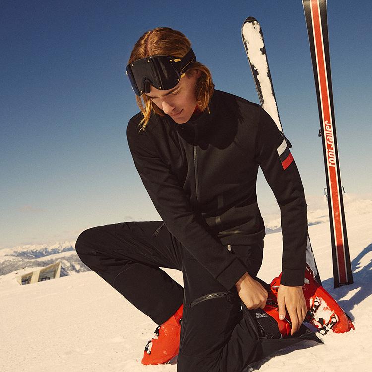 Herren Ski unterziehjacken